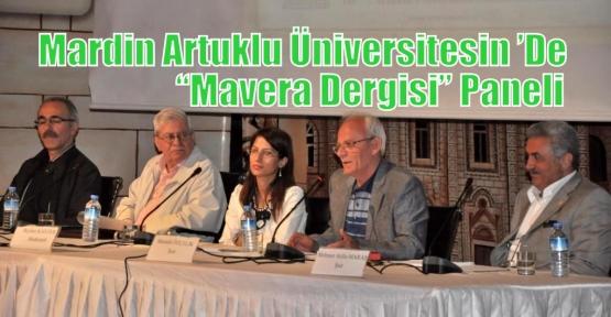 "Mardin Artuklu Üniversitesin 'De ""Mavera Dergisi"" Paneli"