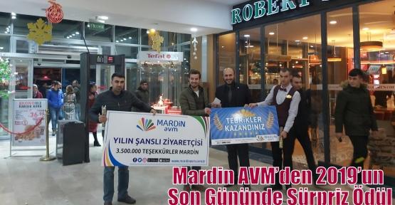 Mardin AVM'den 2019'un Son Gününde Sürpriz Ödül