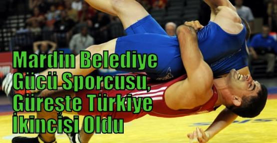 Mardin Belediye Gücü Sporcusu, Güreşte Türkiye İkincisi Oldu