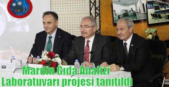 Mardin Gıda Analizi Laboratuvarı projesi tanıtıldı