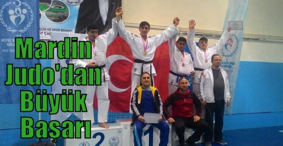 Mardin Judo'dan Büyük Başarı