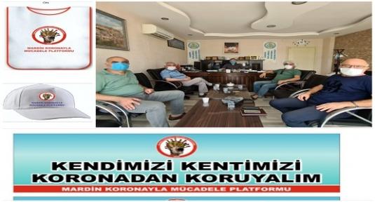 """Mardin Koronayla Mücadele Platformu;""""Halkımızın Sağlığı İçin Sahadayız"""""""