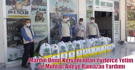 Mardin Umut Kervanı'ndan Yüzlerce Yetim ve Muhtaç Aileye Ramazan Yardımı