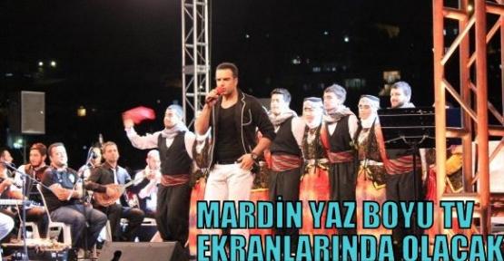 Mardin Yaz Boyu Tv Ekranlarında Olacak