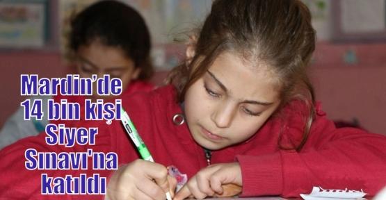 Mardin'de 14 bin kişi Siyer Sınavı'na katıldı