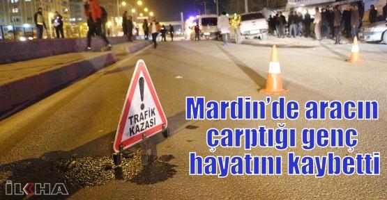 Mardin'de aracın çarptığı genç hayatını kaybetti