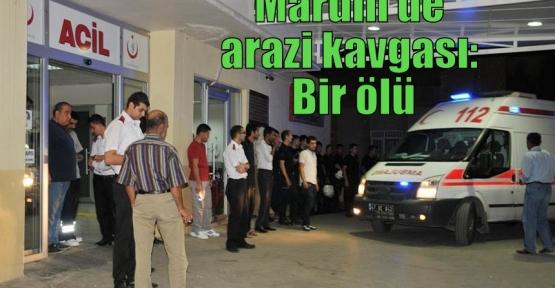 Mardin'de arazi kavgası: Bir ölü