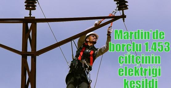 Mardin'de borçlu 1.453 çiftçinin elektriği kesildi