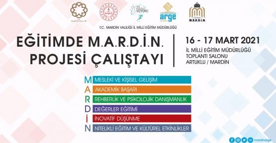 Mardin'de Eğitim Çalıştayı Düzenlenecek