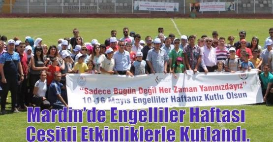 Mardin'de Engelliler Haftası Çeşitli Etkinliklerle Kutlandı.