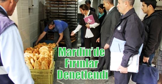 Mardin'de Fırınlar Denetlendi