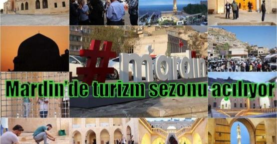 Mardin'de turizm sezonu açılıyor