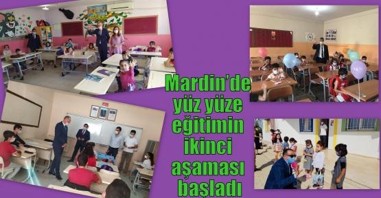 Mardin'de yüz yüze eğitimin ikinci aşaması başladı