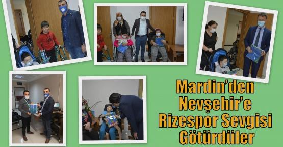 Mardin'den Nevşehir'e Rizespor Sevgisi Götürdüler