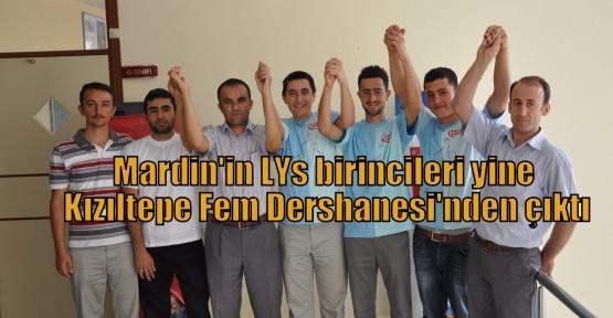 Mardin'in LYs birincileri yine Kızıltepe Fem Dershanesi'nden çıktı