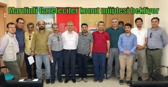 Mardinli Gazeteciler konut müjdesi bekliyor