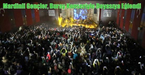 Mardinli Gençler, Buray Konseriyle Doyasıya Eğlendi