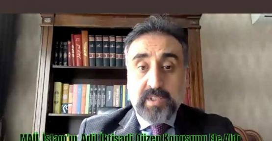 MAÜ, İslam'ın  Adil İktisadi Düzen Konusunu Ele Aldı