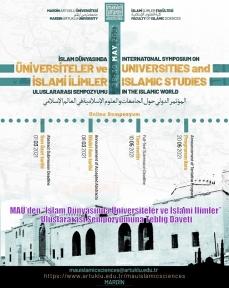 """MAÜ'den """"İslam Dünyasında Üniversiteler ve İslami İlimler"""" Uluslararası Sempozyumuna Tebliğ Daveti"""