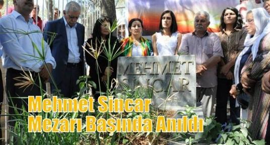 Mehmet Sincar Mezarı Başında Anıldı