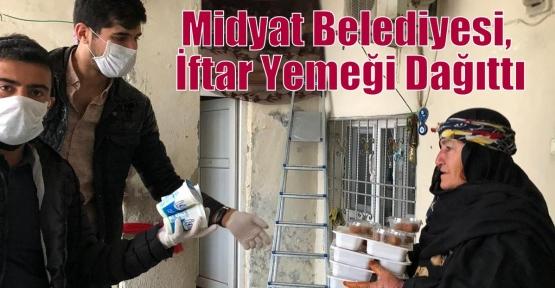 Midyat Belediyesi, İftar Yemeği Dağıttı