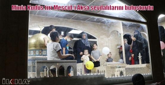 Minia Kudüs tırı Mescid-i Aksa sevdalılarını buluşturdu