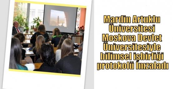 Moskova Devlet Üniversitesiyle bilimsel işbirliği protokolü