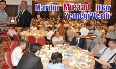 Müstakil Sanayici ve İşadamları Derneği (MÜSİAD)  Mardin  Şubesinden iftar yemeği