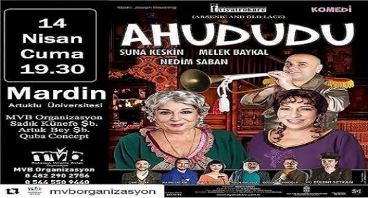 MVB Organizasyon İmzasıyla'Ahududu' Mardin'i Güldürmeye Geliyor