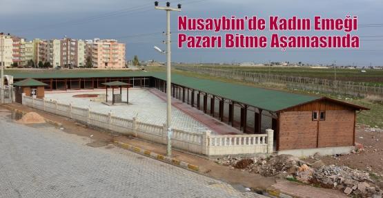 Nusaybin'de Kadın Emeği Pazarı Bitme Aşamasında