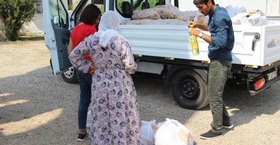 Nusaybin'de Yardım Ve Altyapı Onarım Çalışmaları Devam Ediyor