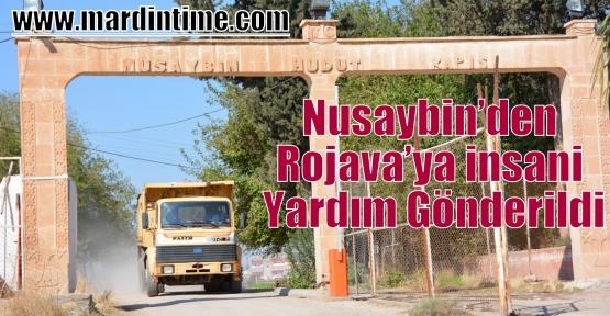 Nusaybin'den Rojava'ya insani Yardım Gönderildi