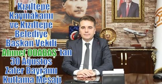 ODABAŞ'tan 30 Ağustos Zafer Bayramı Kutlama Mesajı