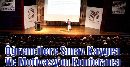 Öğrencilere Sınav Kaygısı Ve Motivasyon Konferansı