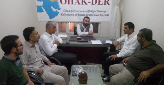 OHAK-DER 'Kan Davası' projesi için toplandı.