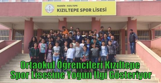 Ortaokul Öğrencileri Kızıltepe Spor Lisesine Yoğun İlgi Gösteriyor