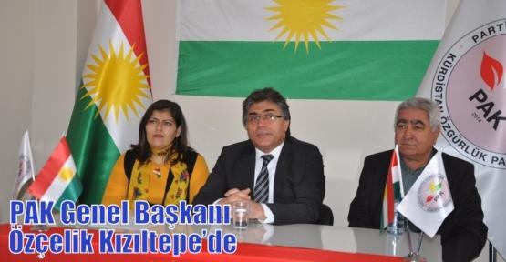PAK Genel Başkanı Özçelik Kızıltepe'de