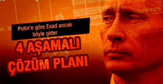 Putin Suriye planını açıkladı