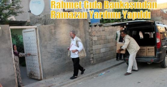 Rahmet Gıda Bankasından Ramazan Yardımı Yapıldı