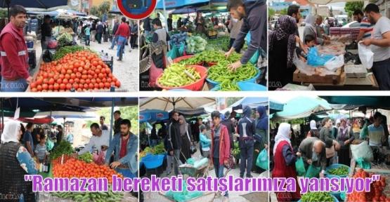 """""""Ramazan bereketi satışlarımıza yansıyor"""""""