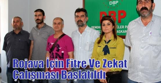 Rojava İçin Fitre Ve Zekat Çalışması Başlatıldı