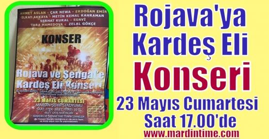 Rojava'ya Kardeş Eli Konseri