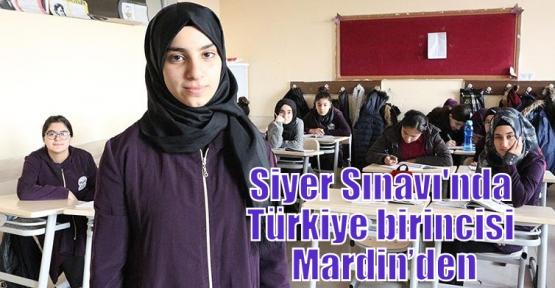 Siyer Sınavı'nda Türkiye birincisi Mardin'den