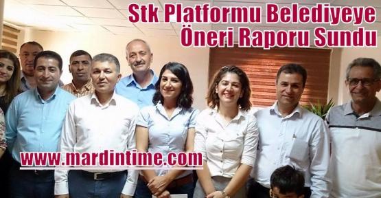 Stk Platformu Belediyeye Öneri Raporu Sundu