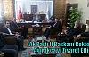 Ak Parti İl Başkanı Rektör Ağırakça'yı Ziyaret Etti