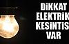 Artuklu'da Elektrik Kesintisi Yapılacak