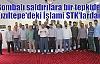 Bombalı saldırılara bir tepkide Kızıltepe'deki İslami STK'lardan