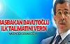 Davutoğlu ilk talimatını verdi: 'Mardin'deki sorunu çözün'
