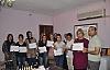Derik'te 25 kadın Bal Paketleme sertifikası aldı