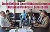 Dicle Elektrik Genel Müdürü Karagüzel  Hububat Merkezini  Ziyaret Etti